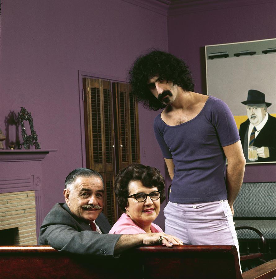 Frank Zappa & His Parents 1 Photograph by John Olson