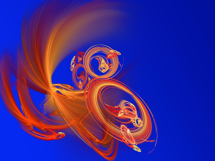Frantic Digital Art by Werner Hilpert