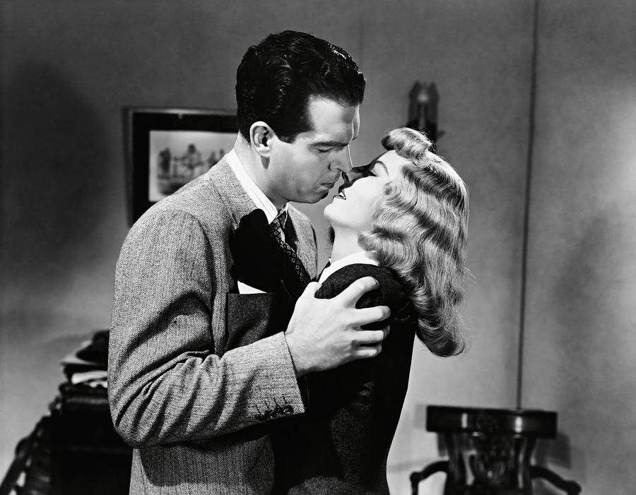 Canvas Scene from Double Indemnity Art print POSTER