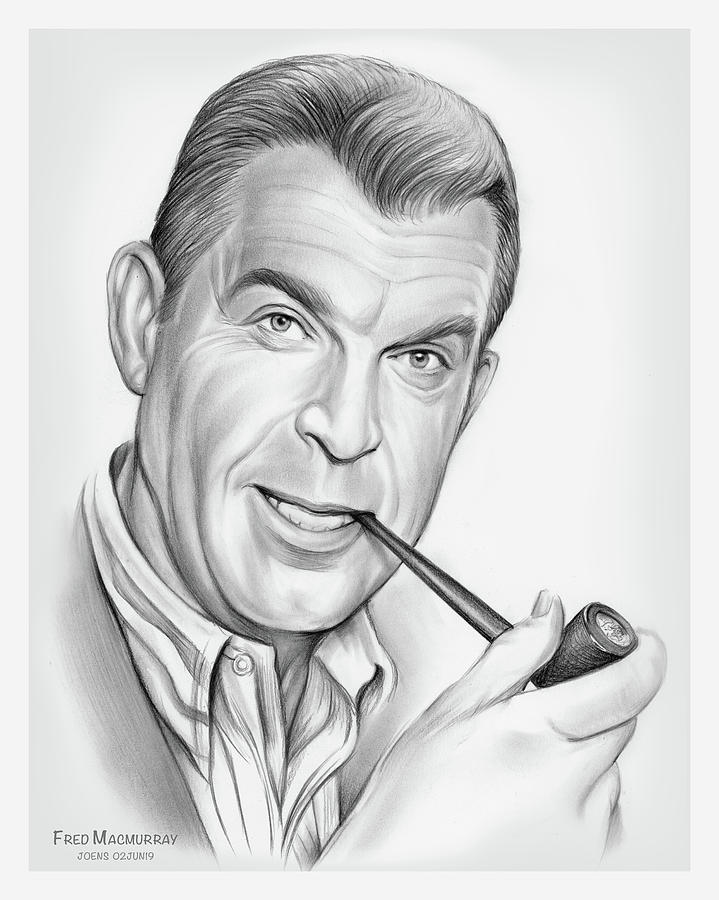 Fred Macmurray Drawing
