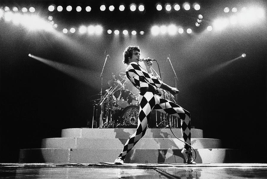 Freddie Mercury Photograph - Freddie Mercury Of Queen by George Rose