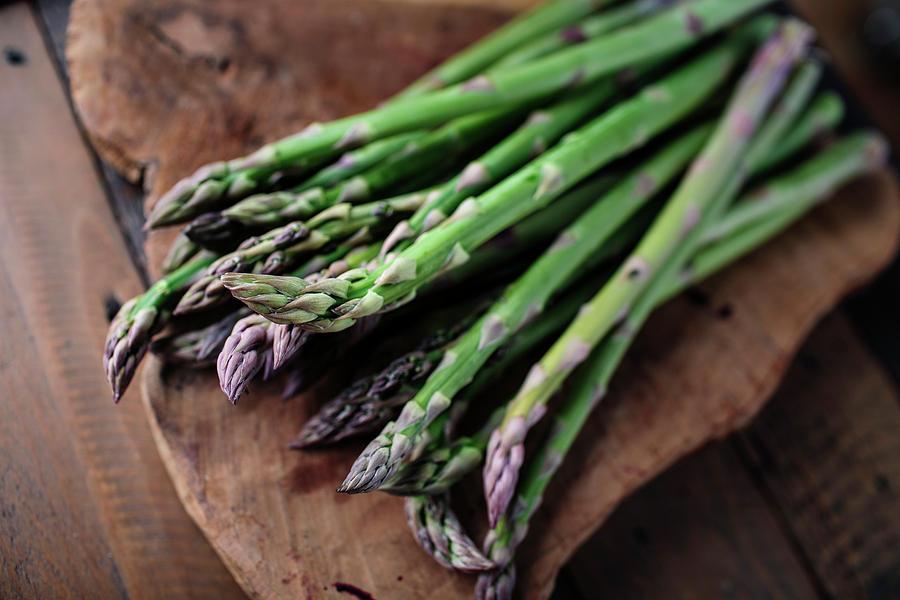 Fresh Green Asparagus Photograph