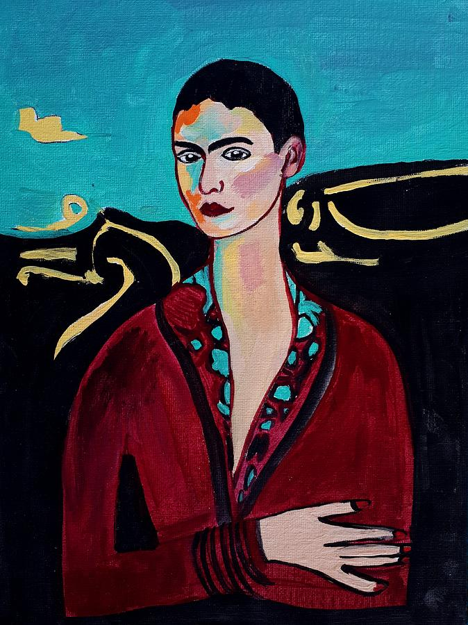 Frida Kahlo. by Nikki Dalton