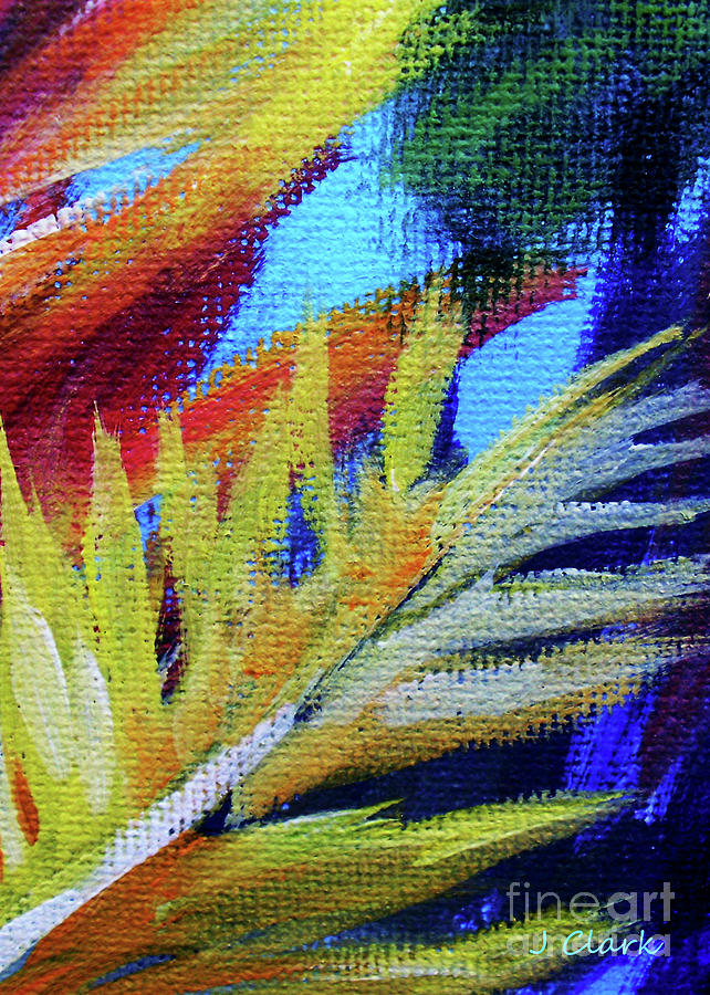 Fronds Painting - Fronds 1 by John Clark