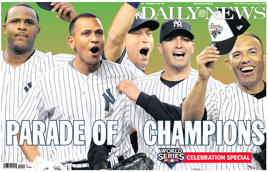 Front Page Wrap Of The Daily News Photograph by New York Daily News Archive
