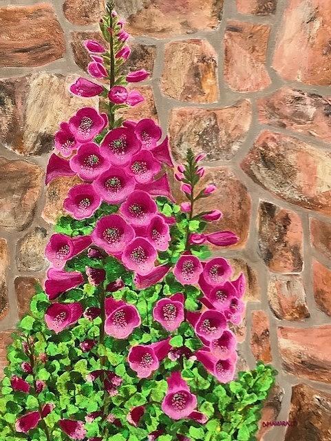 Fuchsia Profusion by Donna Manaraze