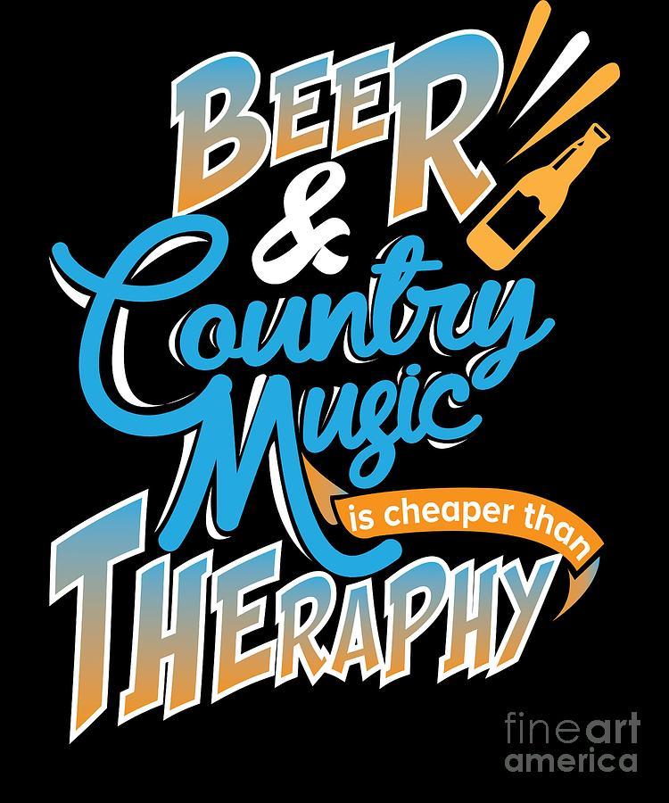 Country Music Design Art