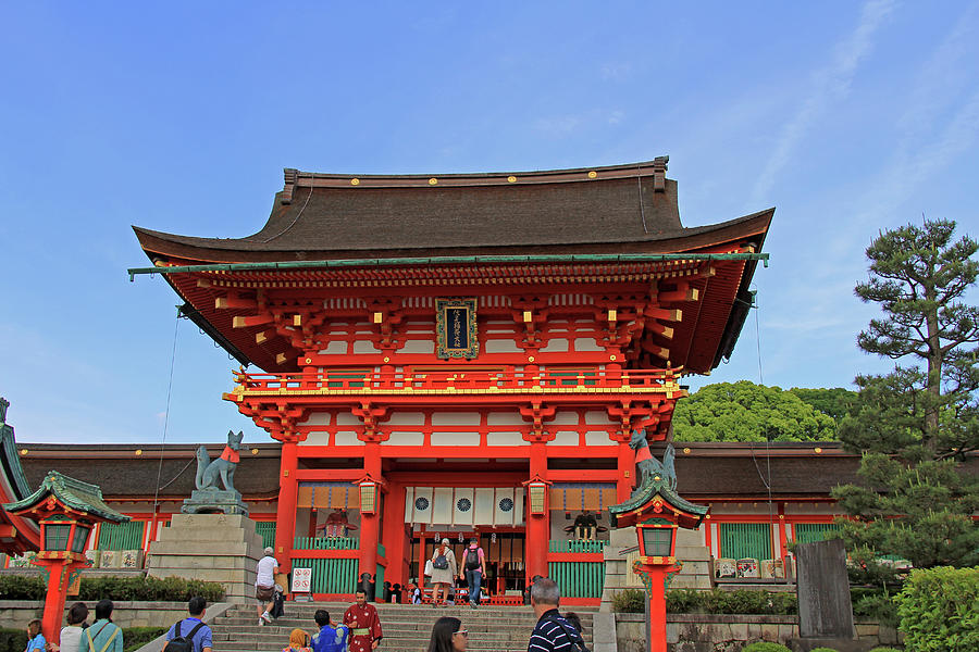 Fushimi Inari-taisha Shrine - Kyoto, Japan by Richard Krebs