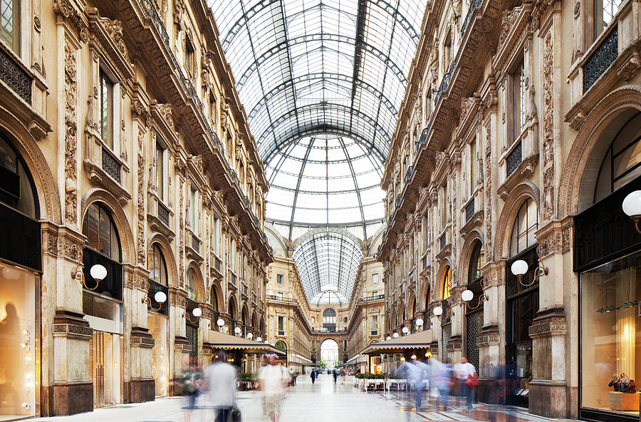 Galleria Vittorio Emanuele II In Photograph by Tomml