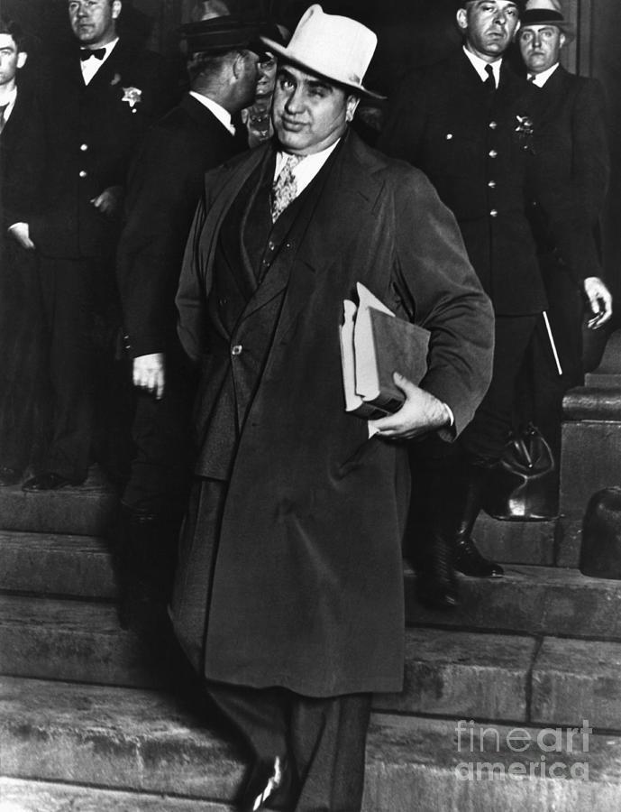 Gangster Al Capone Photograph by Bettmann