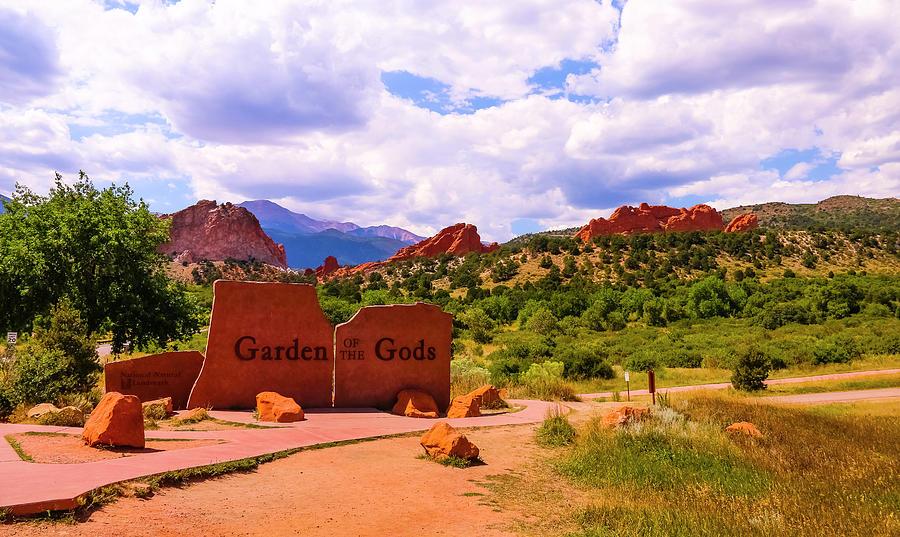 Garden of the Gods  by Ola Allen