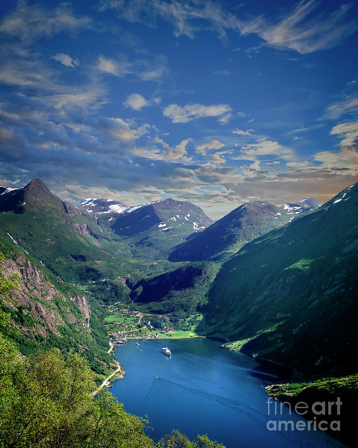 Geirangerfjord by Edmund Nagele