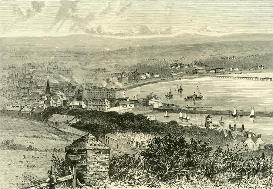 General View Of Douglas Drawing by Print Collector