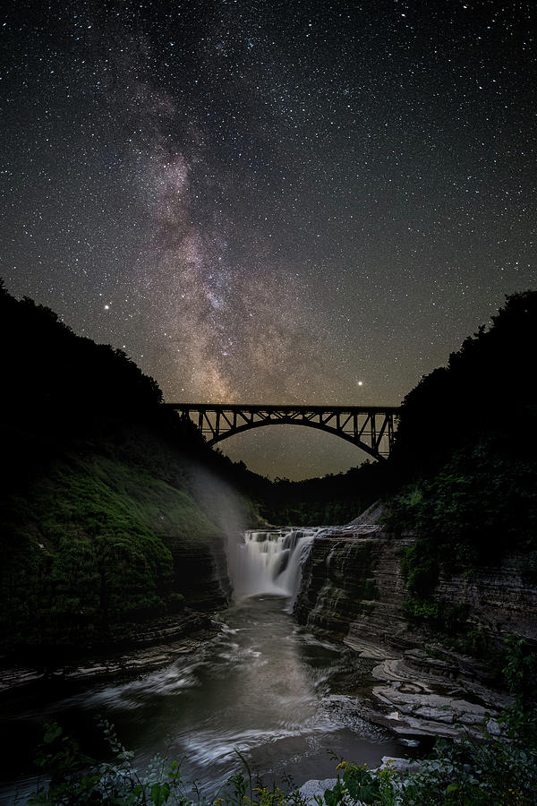Genesee arch bridge by Guy Coniglio