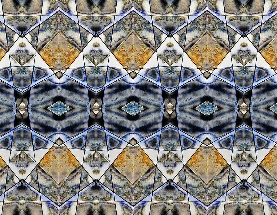 Abstract Photograph - Geometric Pattern Illustration by Tom Gowanlock