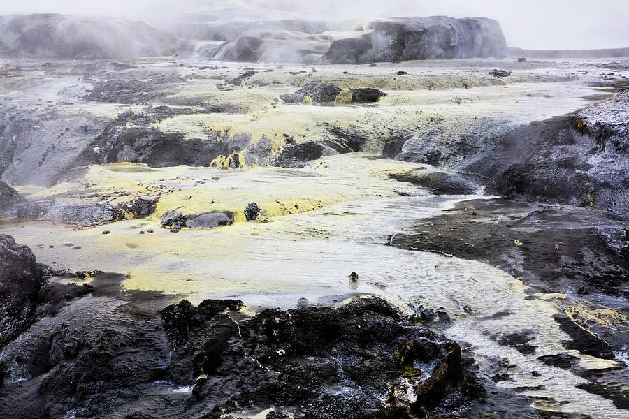 Geomorphic Hot Pools In Rotorua, New Photograph by Design Pics