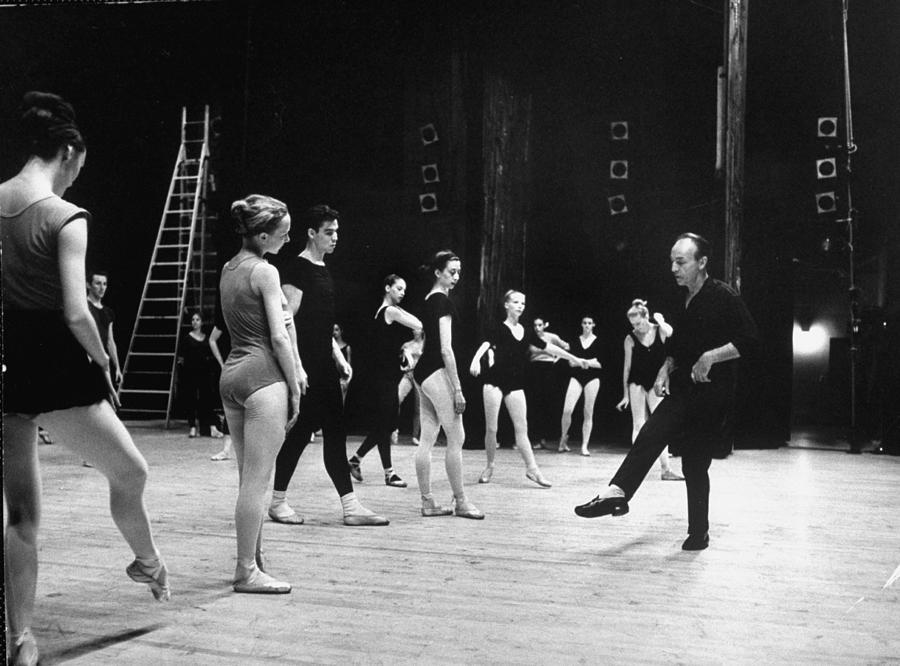 George Balanchinejacques Damboise Photograph by John Dominis