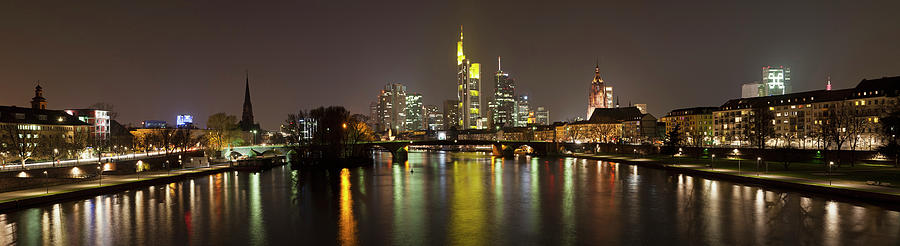 Germany, Frankfurt, View Of City At Photograph by Westend61
