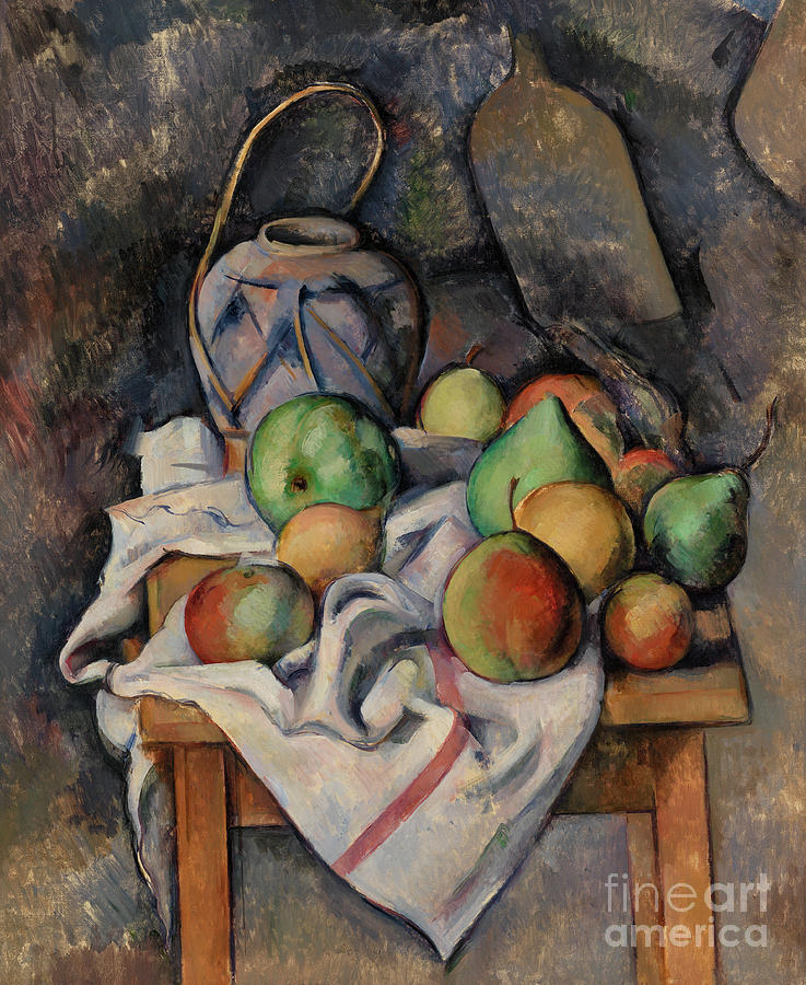 Paul Painting - Ginger Jar by Paul Cezanne