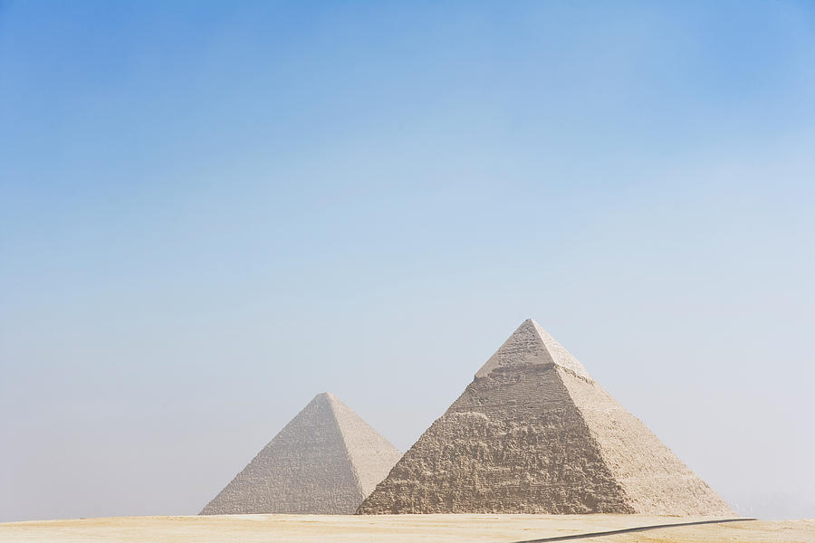 Giza Pyramids Photograph by Roine Magnusson