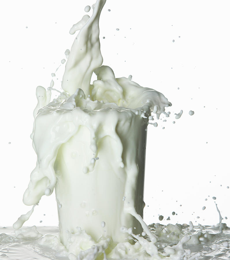 Glass Of Milk Photograph by Buena Vista Images