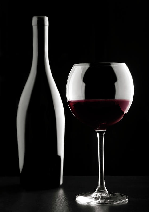 Glass Of Red Wine Photograph by Mauro grigollo