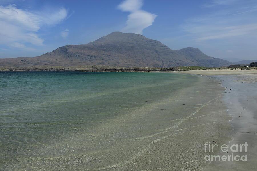 Glassilaun beach Connemara by Peter Skelton