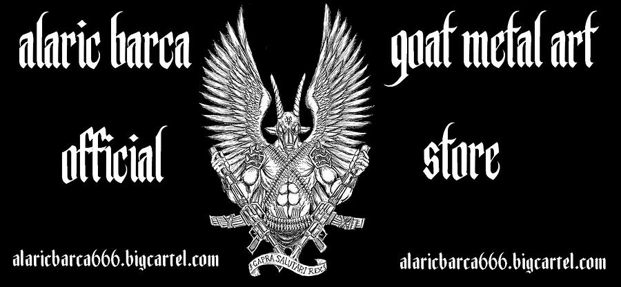 Goat Metal Art by Alaric Barca