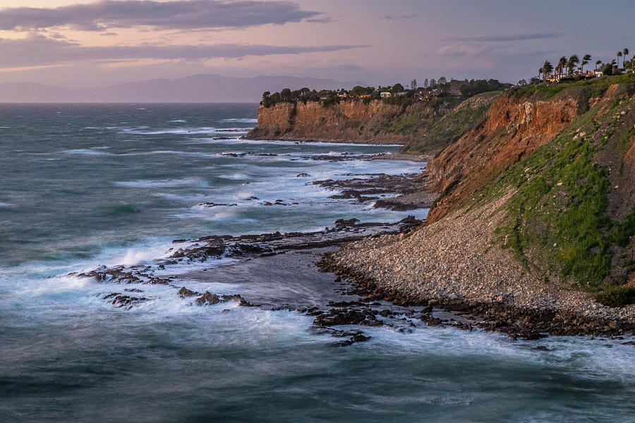 Golden Cove at Sunset on a Windy Day by Andy Konieczny