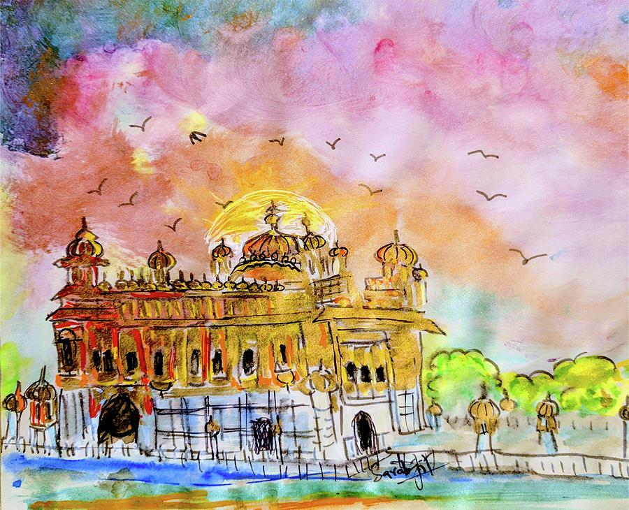 Golden Temple by Sarabjit Singh