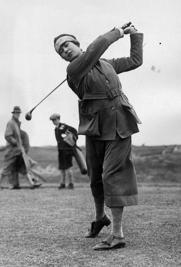 Golfer Photograph by Kirby
