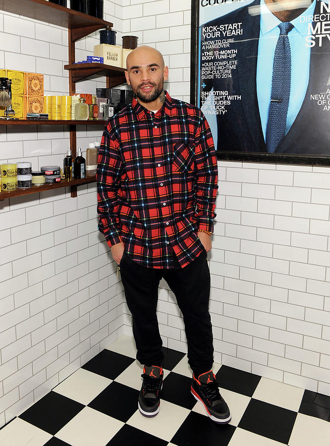 Gq Barber Shop Grand Opening With Photograph by Dimitrios Kambouris