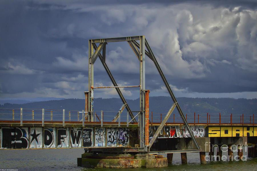 Graffiti Bridge by Mitch Shindelbower