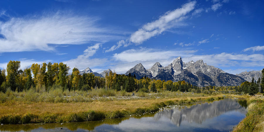 Grand Teton National Park Photograph - Grand Tetons by Don and Bonnie Fink