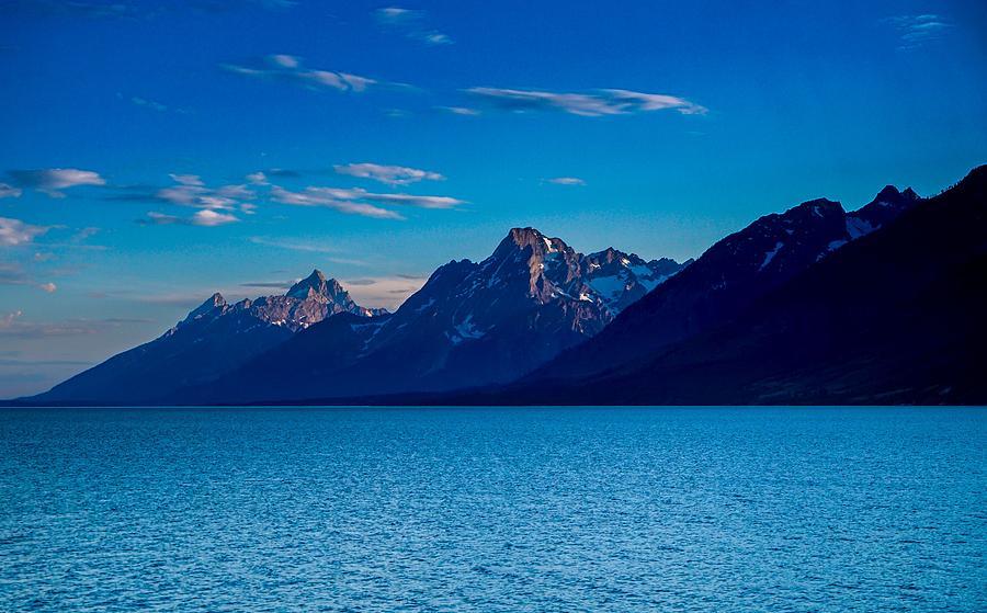 Lake Photograph - Grand Tetons by Ric Schafer