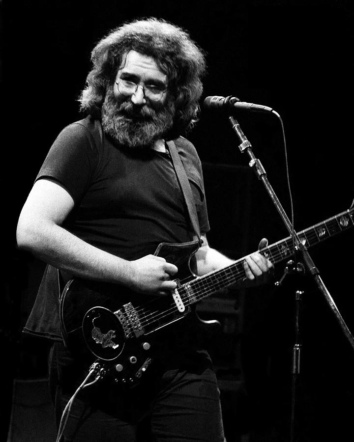 Grateful Dead Live Photograph by Larry Hulst