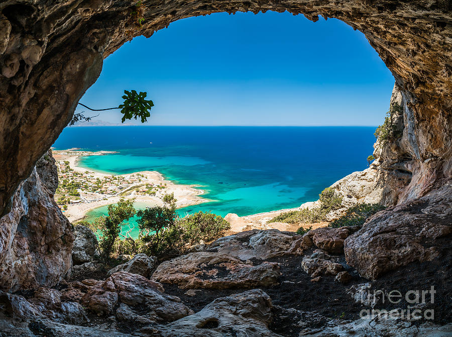 Spinalonga Photograph - Greece, Crete by Arturasker