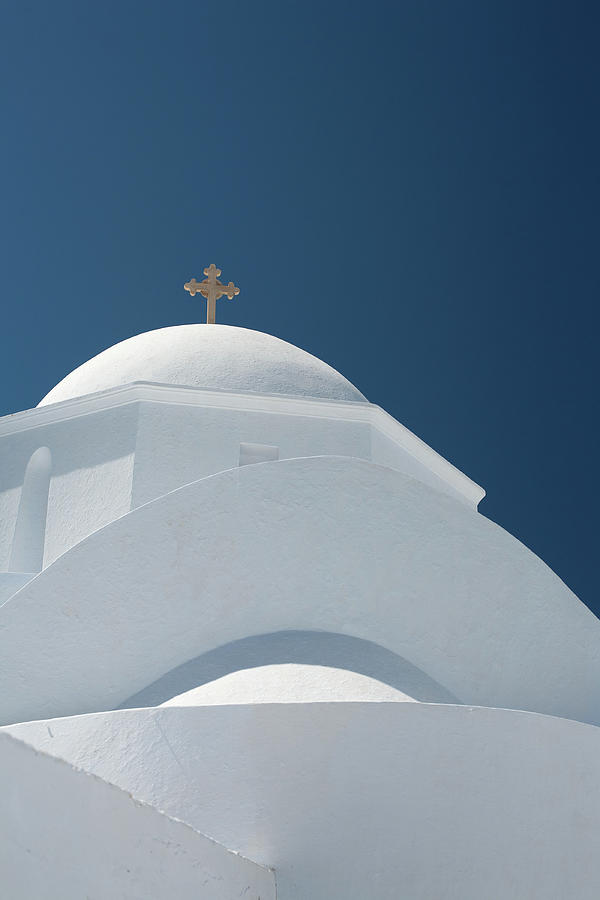 Greek Chapel Photograph by Deimagine