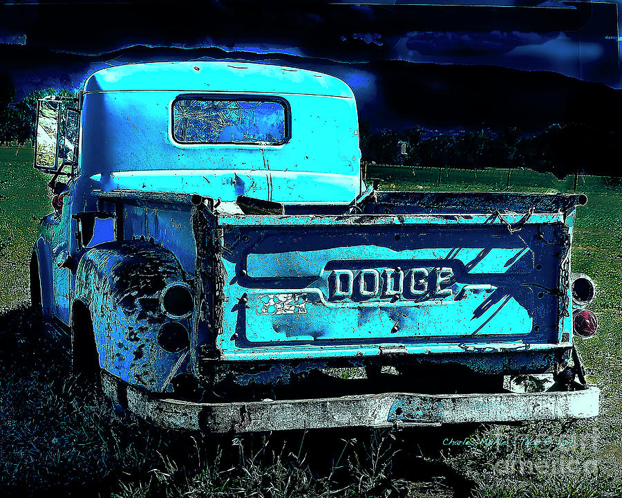 Green Dodge by Charles Muhle