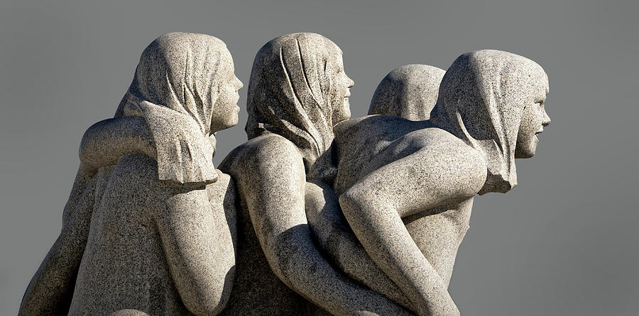 Group of Female Vigeland Sculptures by Phil Cardamone