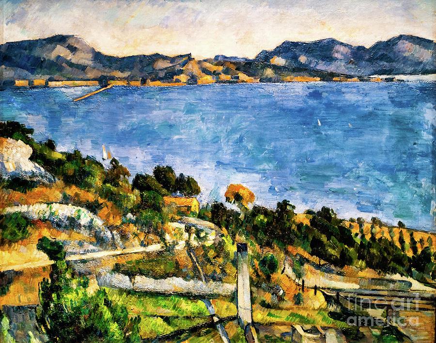 Gulf of Marseille by Paul Cezanne