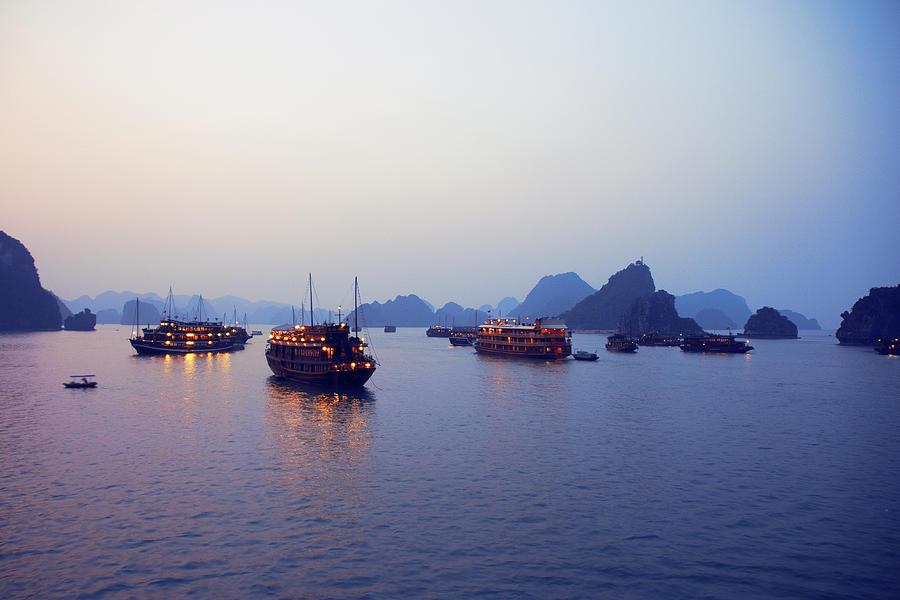 Ha Long Bay Photograph by Samantha T. Photography