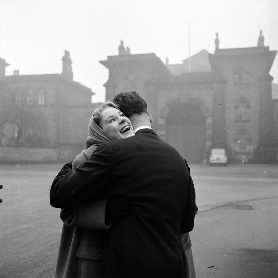 Happy Release Photograph by Bert Hardy