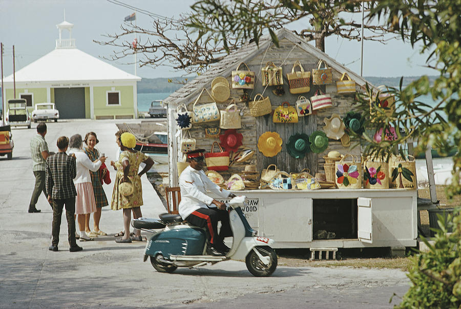 Harbour Island Photograph by Slim Aarons