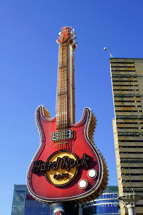 Architecture Photograph - Hard Rock Cafe, Warsaw by Tom Gowanlock
