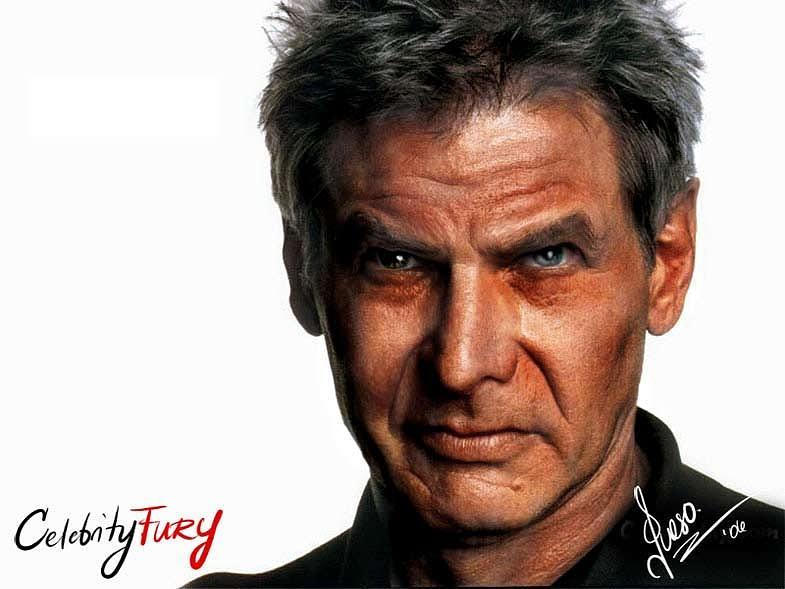 Harrison Ford Digital Art - Harrison Ford by Queso Espinosa