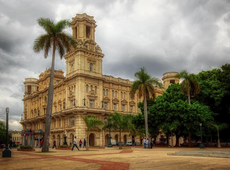 Havana Photograph - Havanas Palacio Del Centro Asturiano by Mountain Dreams