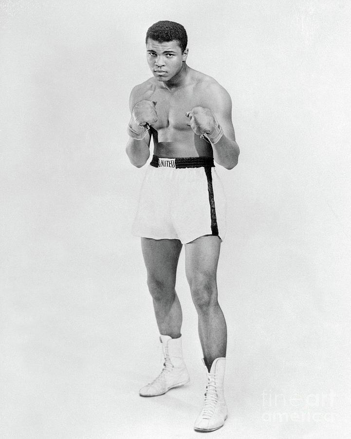Heavyweight Boxer Muhammad Ali Photograph by Bettmann