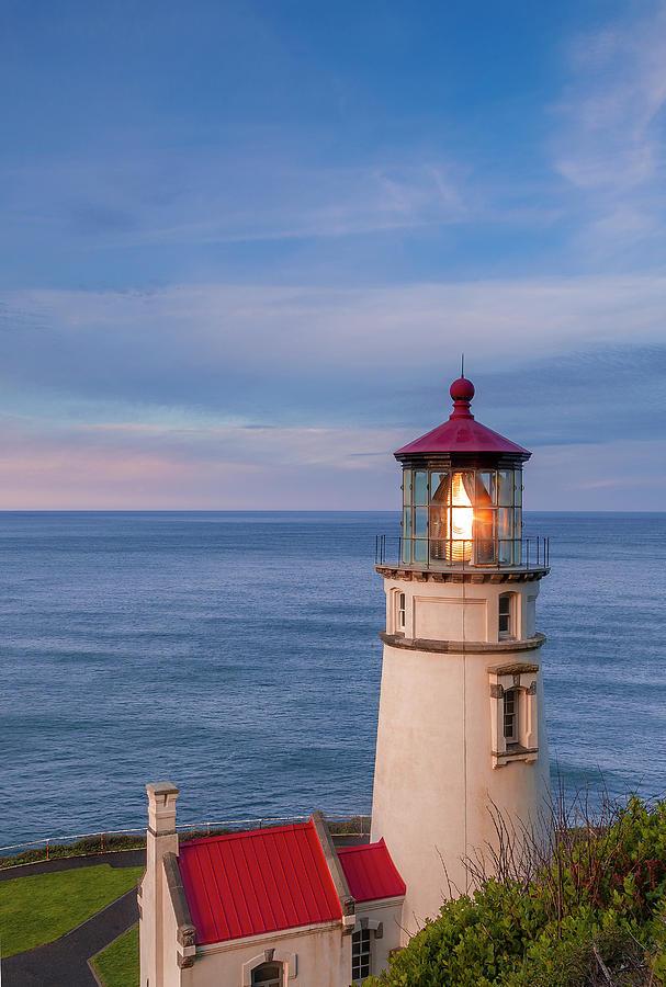 Heceta Photograph - Heceta Head Lighthouse by Andrew Soundarajan