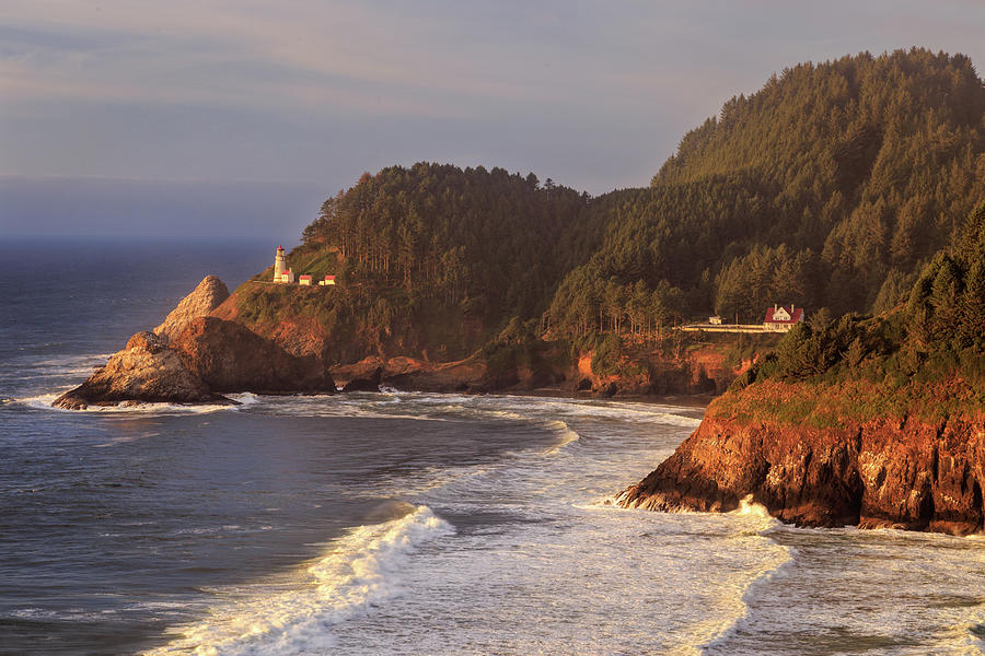 Heceta Head Lighthouse by James Eddy